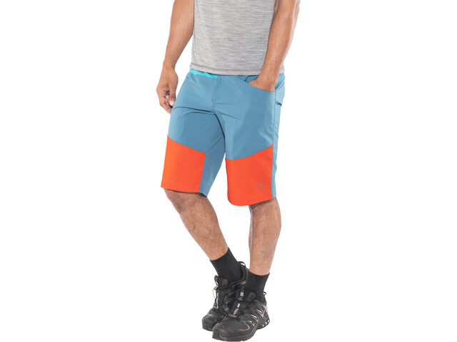 La Sportiva TX Shorts Men Lake/Cardinal Red